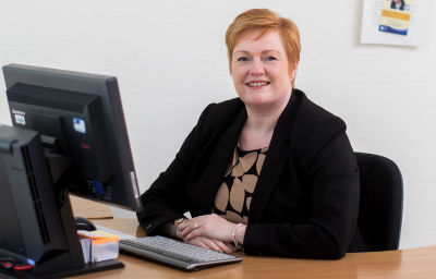 Angela Cox, Principal, Borders College