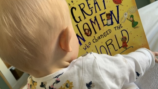 Learning about women's achievements from an early age