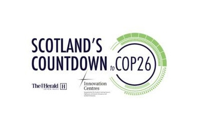 Scotland's Countdown to COP26 event logo