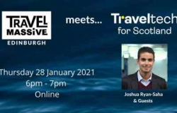 image promoting the Travel Massive event