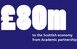 £80m from academic partnerships
