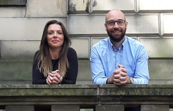 Kirsty Buchanan and Gary Hogan