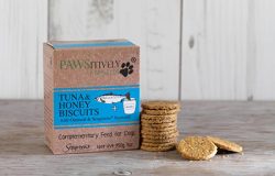 Tuna & Honey Dog biscuits by PAWSitively Natural