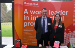 Marks and Clerk exhibition stand
